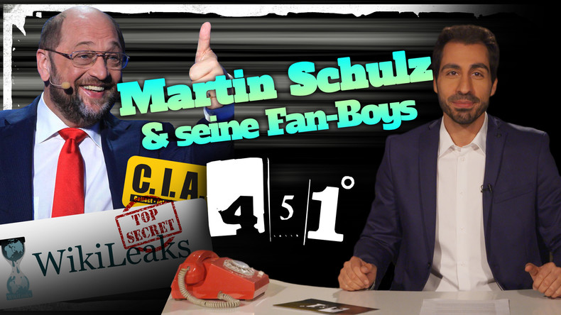 451 Grad: Martin Schulz feiert sich selbst | WikiLeaks entlarvt CIA | Bild radioaktiv [25]