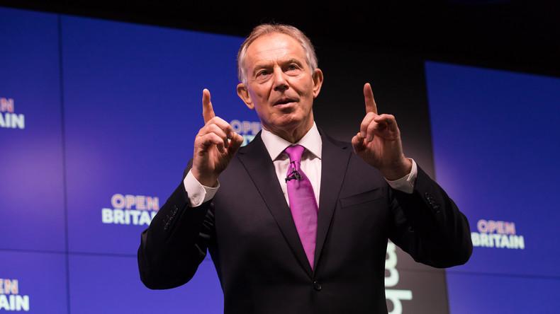 Großbritanniens Ex-Premierminister Tony Blair gründet Anti-Populismus-Zentrum