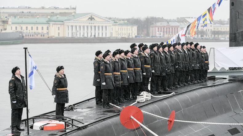Russlands Verteidigungsministerium zeigt Alltag von U-Boot-Männern [VIDEO]