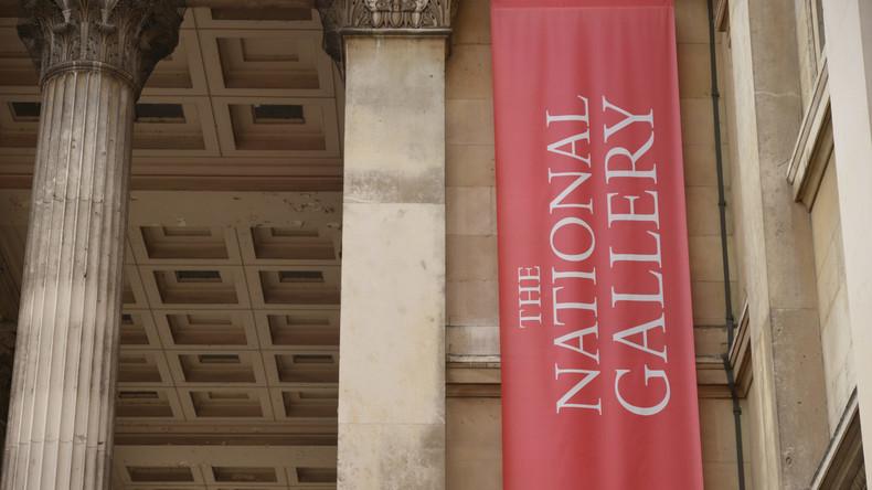 Attentat gegen Kunst: Mann zerschneidet Thomas Gainsboroughs Gemälde