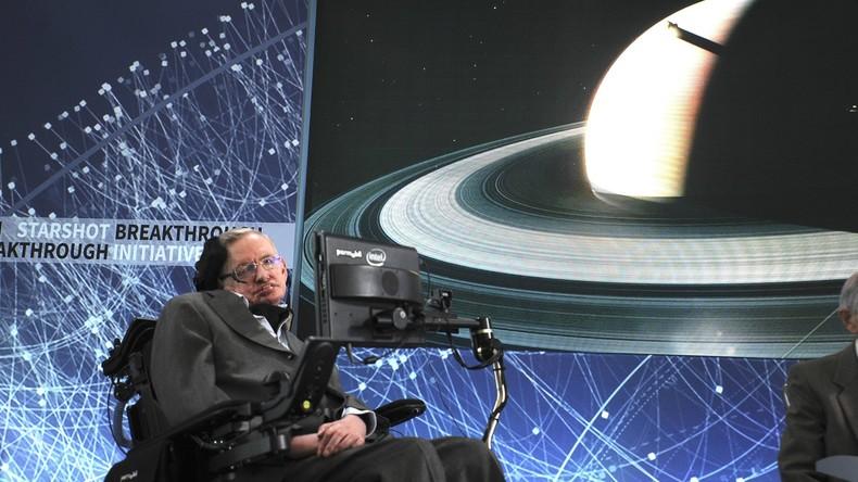 Stephen Hawking will ins Weltall fliegen