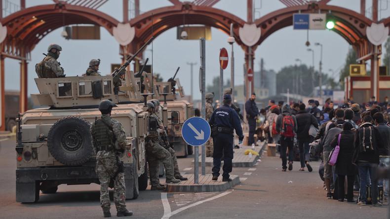 Ungarn setzt auf neuen Grenzstützpunkt zum Schutz vor Zufluss der Flüchtlinge