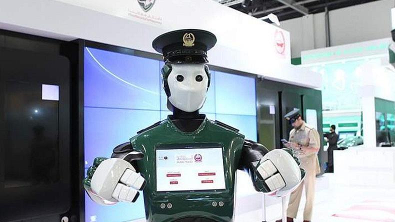 Roboter-Polizisten ab Mai 2017 in Dubai im Einsatz