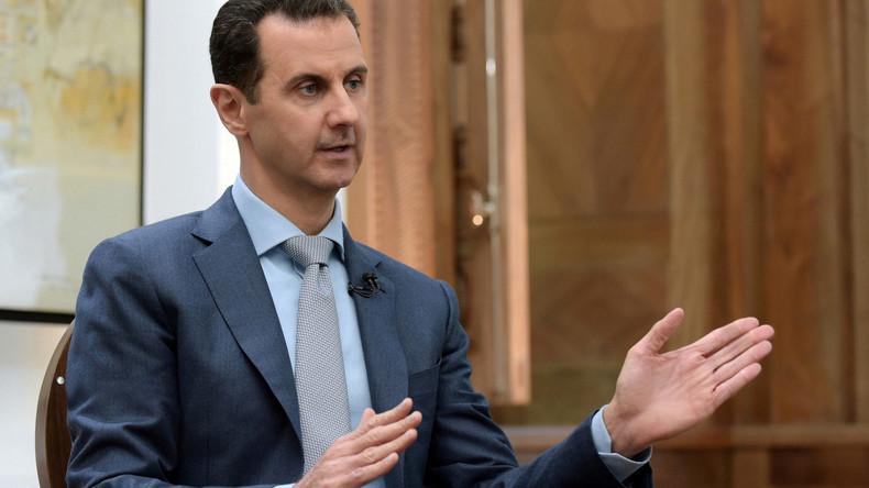 """Assad im RT-Interview: """"US-Politik basiert auf vielen Standards, nicht nur doppelten"""""""
