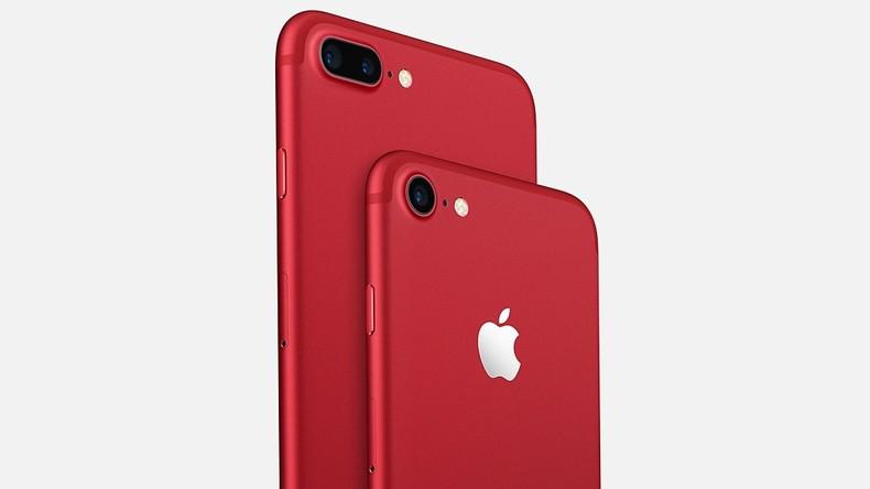 Product Red: Apple startet Verkauf von roten iPhones 7 und 7 Plus