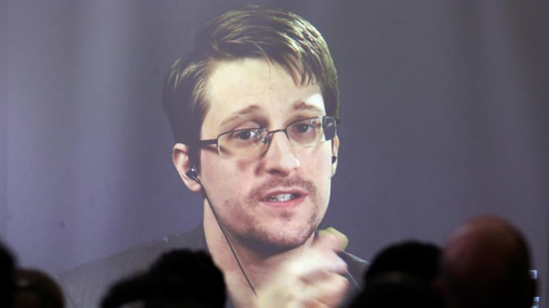 Edward Snowden über Russland, Spionagemikrowellen und Internetsicherheit auf der CeBit