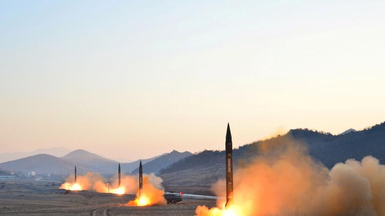 Nordkorea scheitert bei erneutem Raketentest