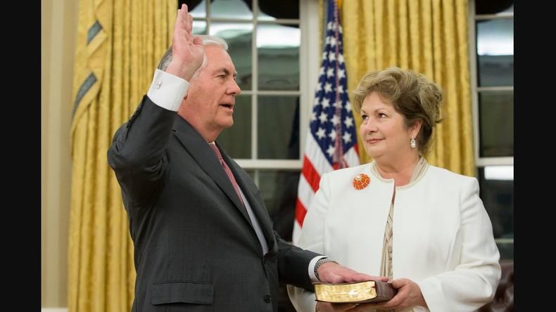 Rex Tillerson: Meine Frau ließ mich US-Außenminister werden