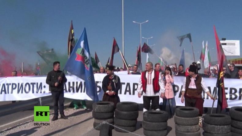 Bulgarien: Nationalisten blockieren Grenze zur Türkei, wegen Erdogans Wahlbeeinflussung