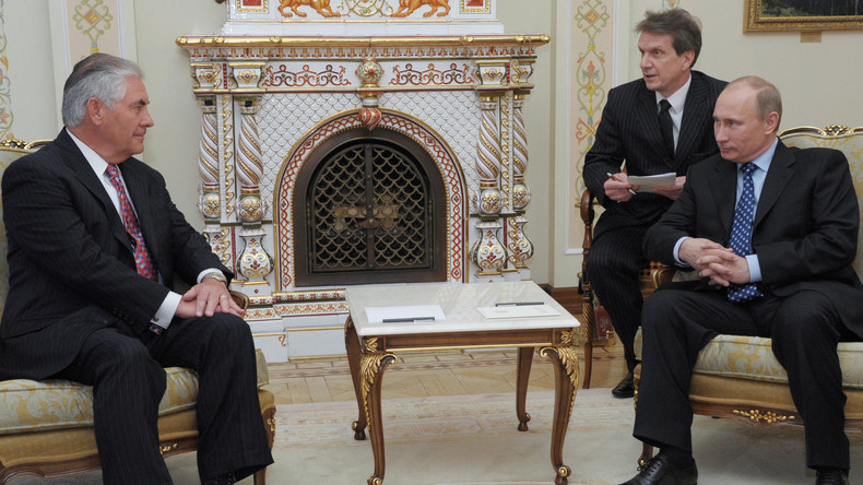 Turbulente Reiseplanung im Weißen Haus: Tillerson nach Moskau, Trump zur NATO