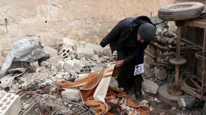 USA bombardieren mit Flüchtlingen besetzte Schule in Nordsyrien: Bis zu hundert Tote befürchtet
