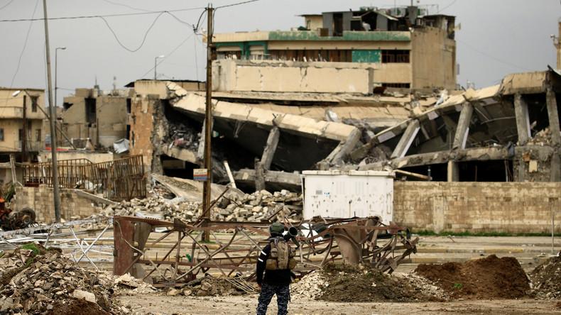 UK-Monitor: US-Luftangriffe auf Mossul töteten mehr Zivilisten als alle Luftangriffe auf Aleppo