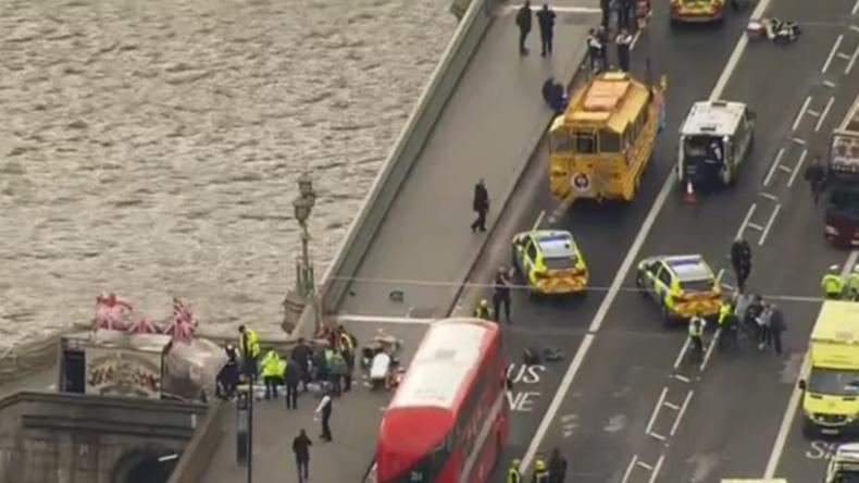Live: Schüsse vorm britischen Parlament - Vier Tote und zahlreiche Schwerverletzte