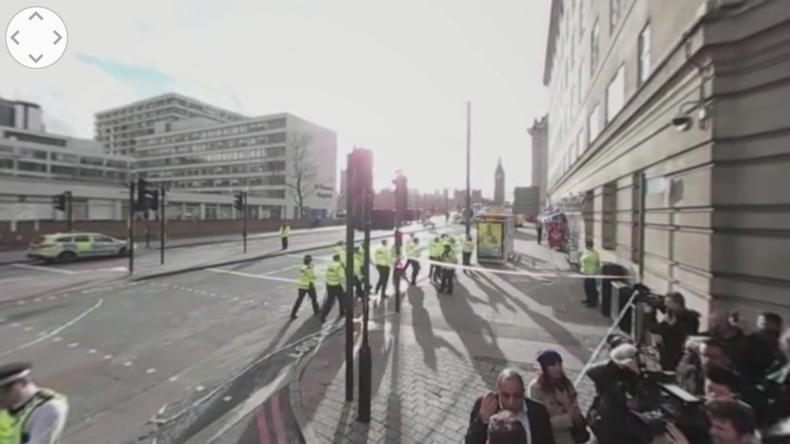 London steht nach Terror-Angriff unter Schock.