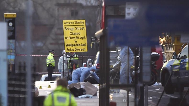 """London: Polizei spricht von 4 Toten und 29 Verletzten sowie """"islamistischem Terror"""" als Motiv"""