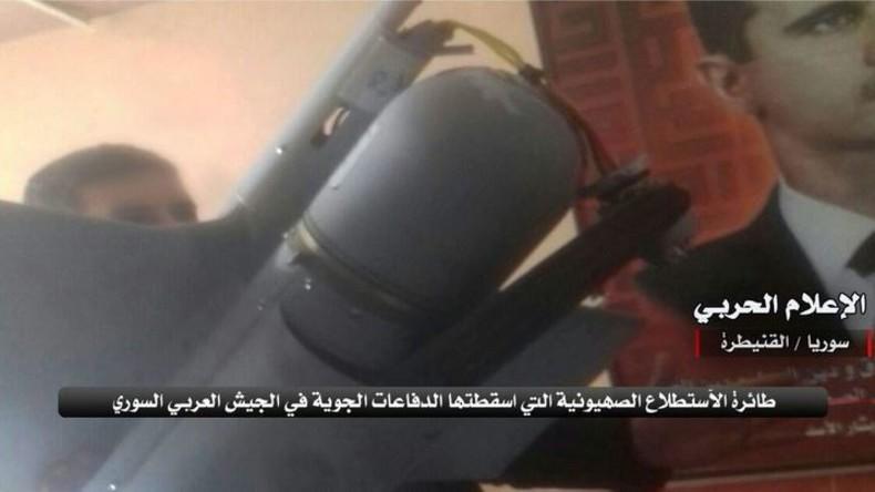 Syrien schießt israelische Militärdrohne ab - Netanjahu droht mit militärischer Eskalation