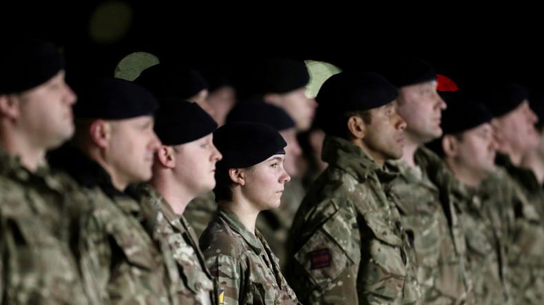 """""""Größte Stationierung seit dem Kalten Krieg"""" – Über 100 NATO-Militärfahrzeuge in Estland angekommen"""