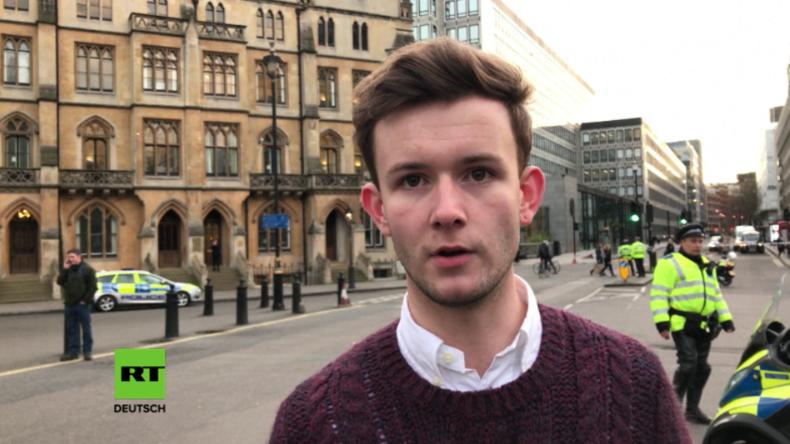 Augenzeuge dachte, dass Angriffe in London bloß eine Militär-Übung seien.