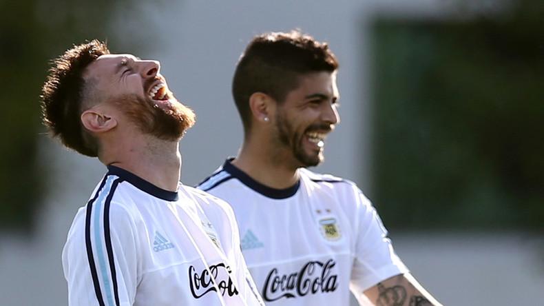 """Kokain mit """"Lionel Messi"""" Bildern auf 85 Millionen Euro eingeschätzt"""