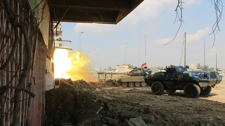 Islamischer Staat missbraucht Zivilisten in Mossul als menschliche Schutzschilde