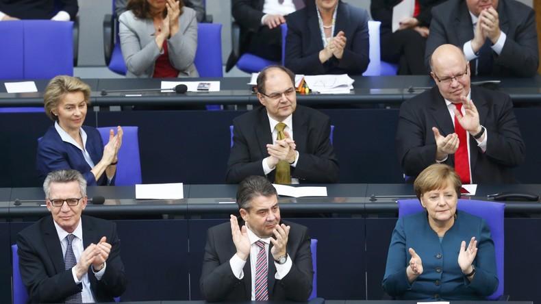 Bundestag stimmt mit Stimmen von CDU und SPD für die PKW-Maut