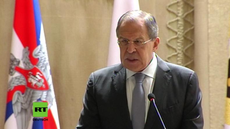 Lawrow: Russland und Europa brauchen einander - Hoffentlich realisieren die EU-Kollegen das bald