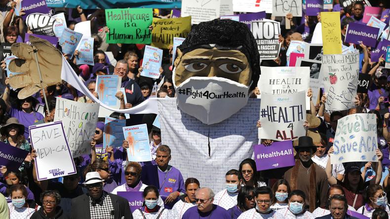 Härtetest für Trump im Abgeordnetenhaus: Folgt auf Obamacare Trumpcare?