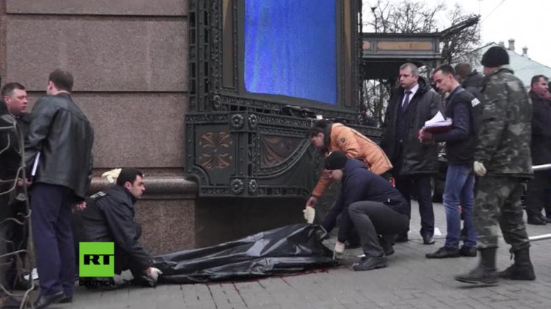 Ukraine: Ehemaliger Staatsduma-Abgeordneter auf offener Straße in Kiew erschossen