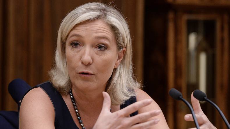 Marine Le Pen in russicher Duma
