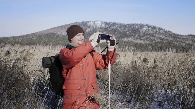Ausstellung eines blinden Fotografen in Moskau eröffnet
