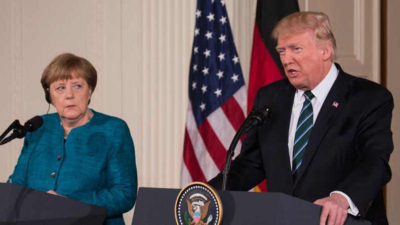 Sunday Times: Trump soll Merkel eine Rechnung für die NATO-Dienstleistungen überreicht haben