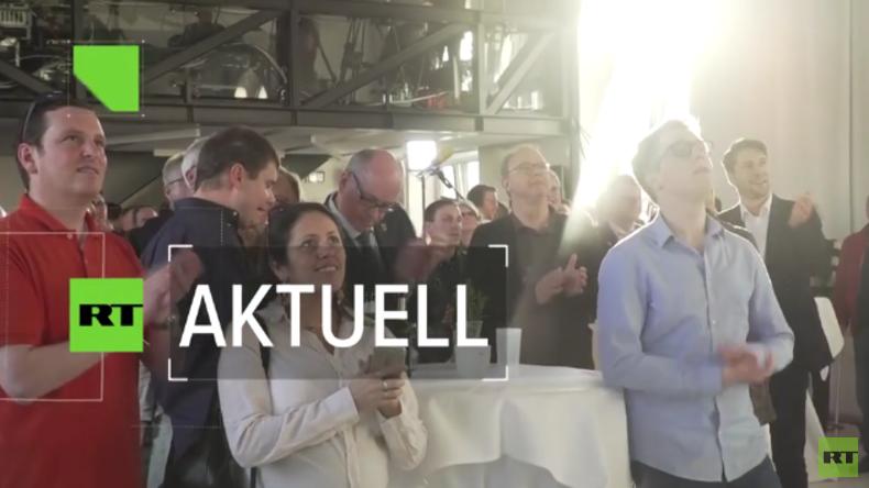 Die CDU feiert ihren Sieg in Saarbrücken