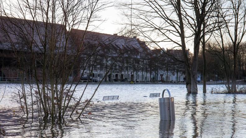 Wissenschaftler sagen Überflutungen der Häuser von fünf Millionen Europäern vorher
