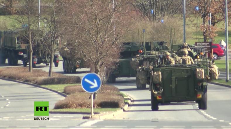 """Bayern: US-geführte NATO-Truppen nach Polen entsandt, um """"gegen Russlands Aktionen vorzugehen"""""""