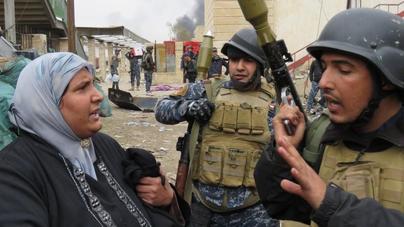 """Flüchtlinge aus Mossul: """"Unser Wohnviertel wurde eingeäschert"""""""
