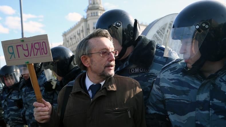 Moskau: Opposition hält nicht genehmigte Demonstration gegen Korruption ab