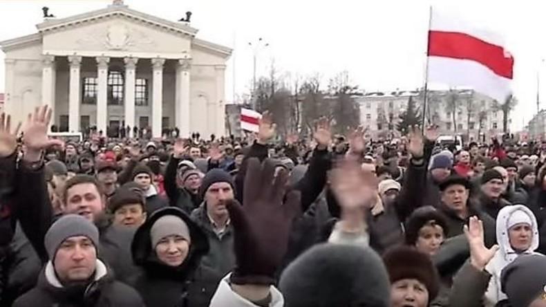 Proteste in Weißrussland: Unzufriedene Bürger und Interesse der Westmedien