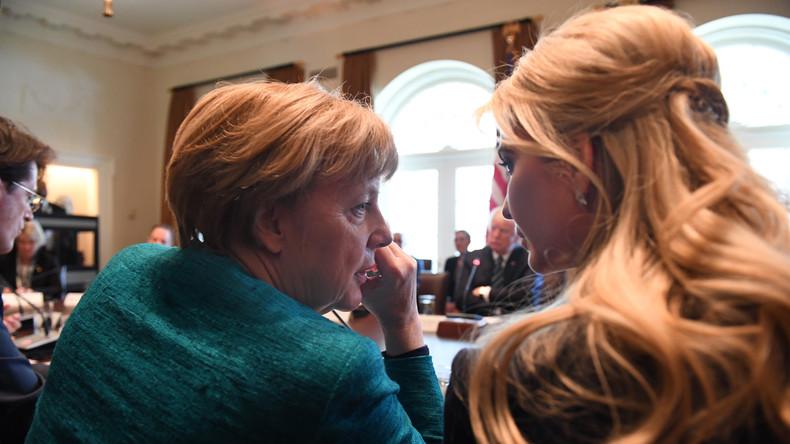 Ivanka Trump nimmt Merkels Einladung an und kommt zu W20-Gipfel nach Berlin