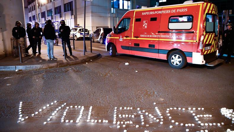 Ausschreitungen mit Polizei nach Tötung eines Zivilisten in Paris - mindestens drei Verletzte