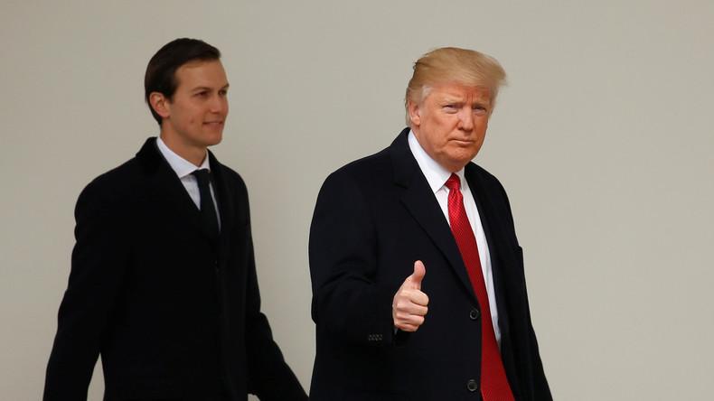 Trumps Schwiegersohn zum Leiter der US-Innovationsbehörde ernannt