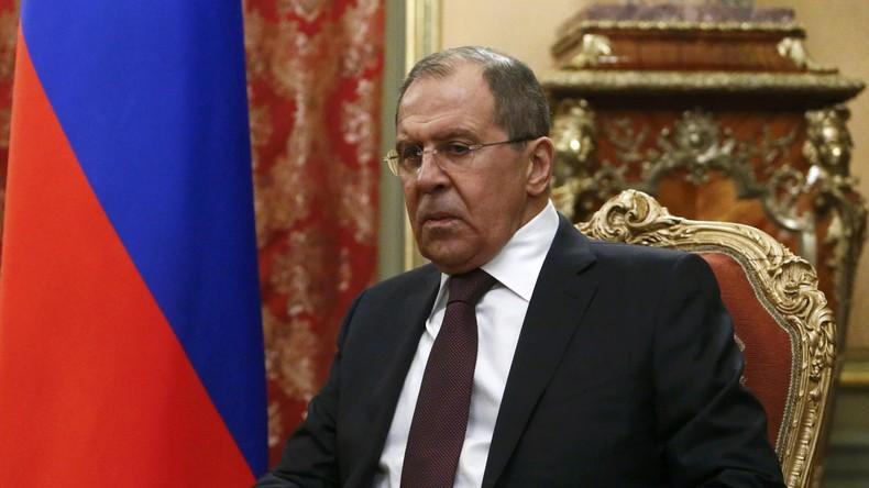Sergei Lawrow: Russland wird Donbass-Bewohner nicht im Stich lassen