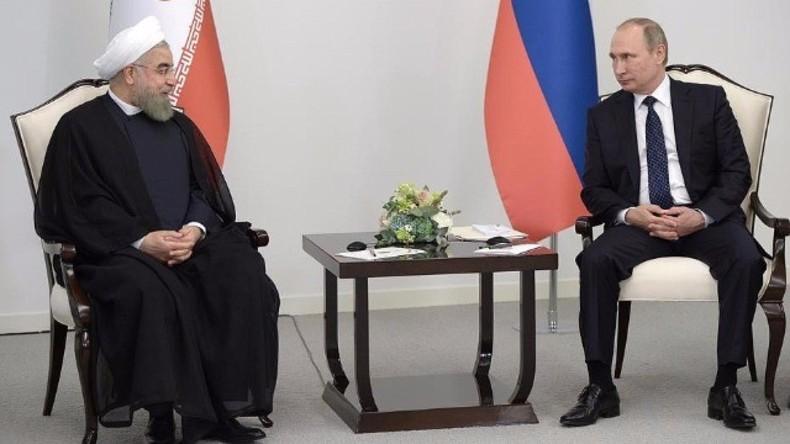 Live: Putin und Irans Präsident Rohani geben gemeinsame Presseerklärung in Moskau