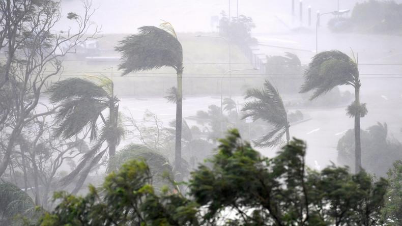 Zyklon Debbie wütet über australischem Bundesstaat Queensland