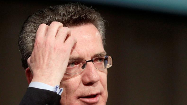Innenminister de Maizière: Amri hätte in Haft genommen werden können