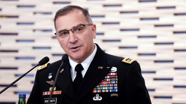 NATO Oberkommandeur für Europa setzt sich für Lieferungen tödlicher Waffen an die Ukraine ein