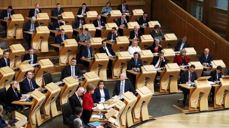 Schottisches Parlament stimmt für neues Unabhängigkeitsreferendum