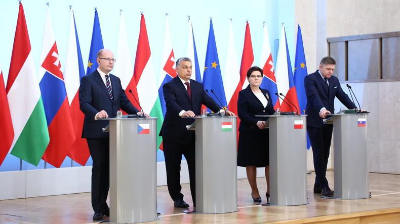 Visegrád-Gruppe beschließt, sich von EU bei Migrationspolitik nicht erpressen zu lassen
