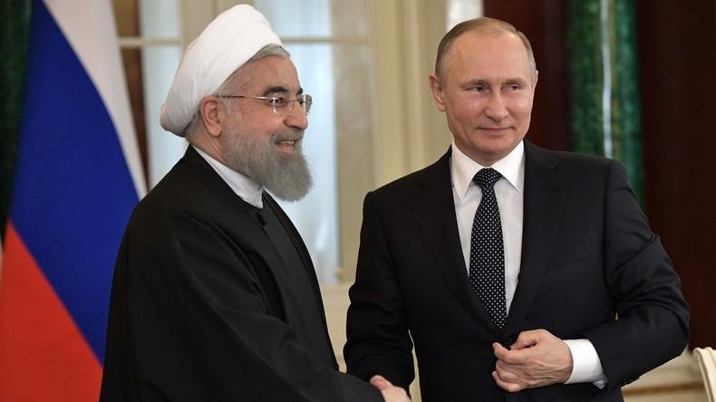 Russland und der Iran plädieren für friedliche Lösung der Syrien-Krise