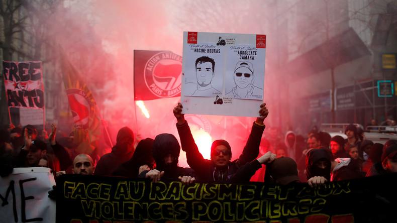 Mindestens 30 Festnahmen: Erneut große Proteste gegen Polizeigewalt in Frankreich