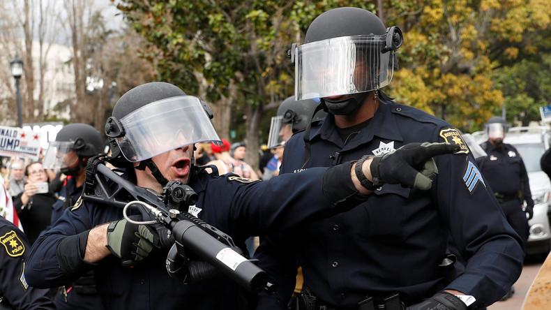 Wer im Glashaus sitzt…. US-Außenministerium verurteilt Verhaftungen bei Demos in Russland